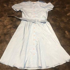 Vintage Katie Louis belted dress